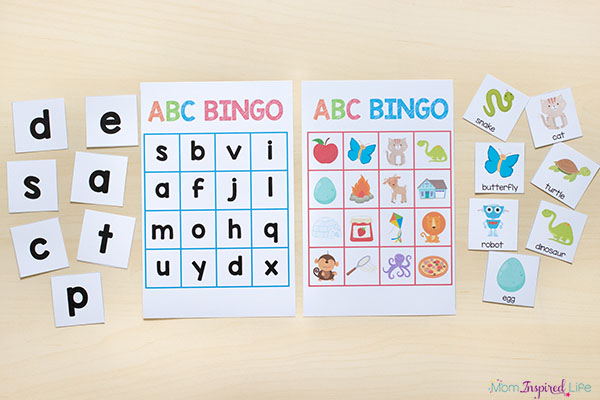 Printable Alphabet Activities Mega Bundle