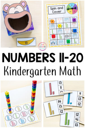 Roll and Dot the Number Printable