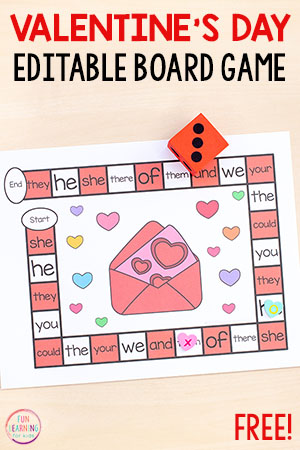 Editable Sight Word Games That Your Kids Will Beg to Play