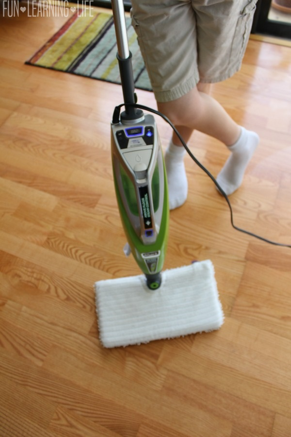 Shark Steam Mop Hardwood Floors Review : 6 Benefits Of Owning The Shark Blast & Scrub 2-in