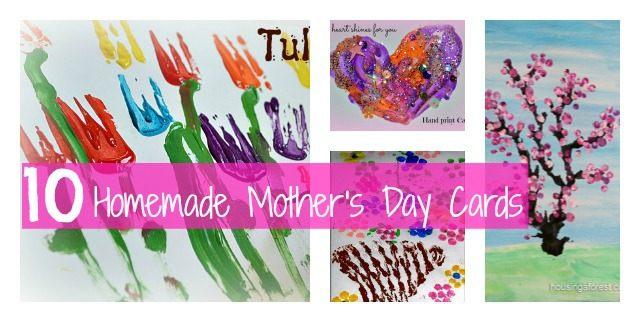 10 Mother\u0027s Day Card Ideas Fun Littles