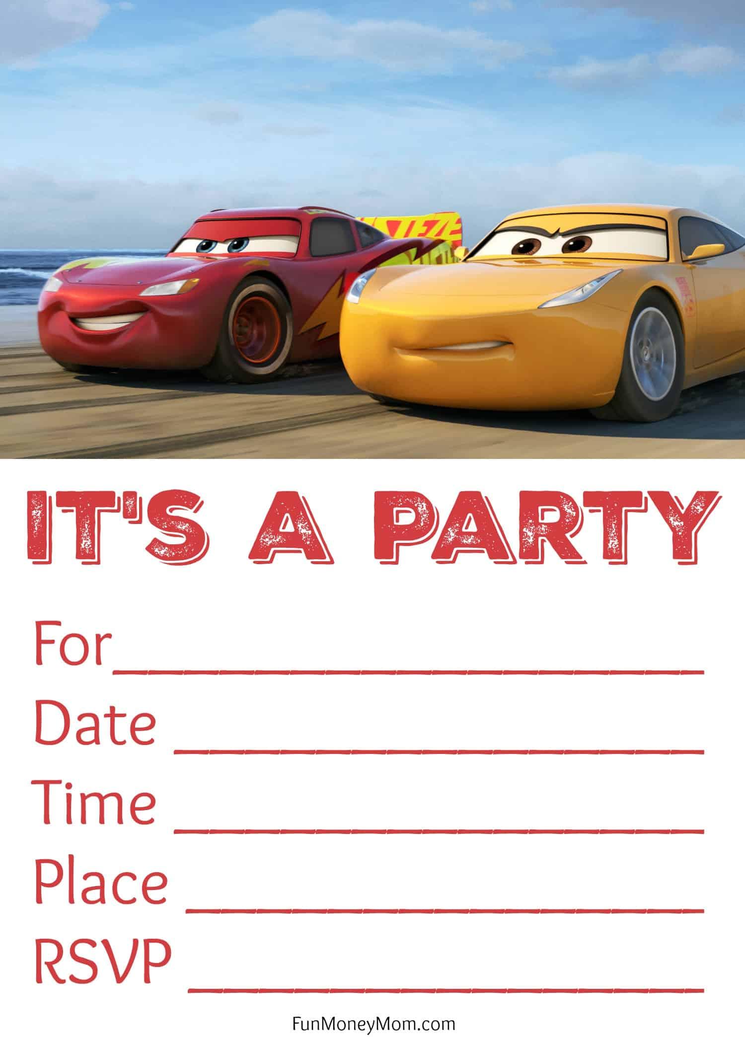 free printable 16th birthday invitations