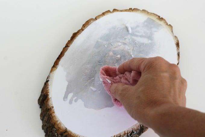 How To Create A Beautiful Wood Photo Transfer Fun Money Mom
