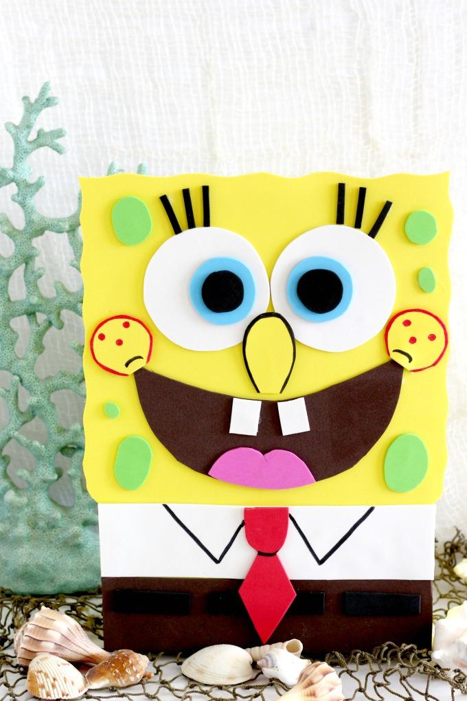 Sponge Bob Valentine Box Fun Money Mom