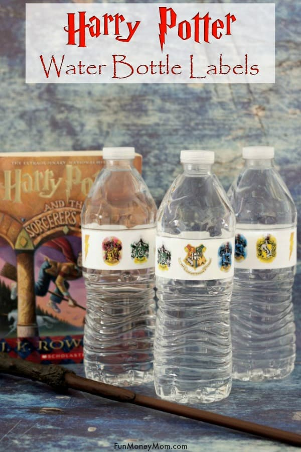 Free Printable Harry Potter Labels For Water Bottles - Fun Money Mom