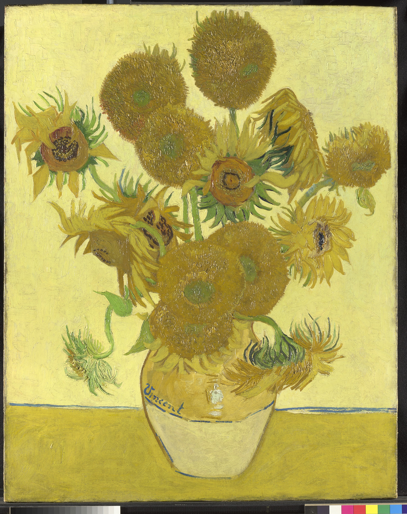 Cuadro De Los Girasoles Van Gogh 39s Sunflowers Funny How Flowers Do That