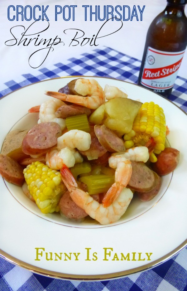 This Crockpot Shrimp Boil is so incredible, it will become an immediate favorite! You have to pin this awesome crockpot recipe!