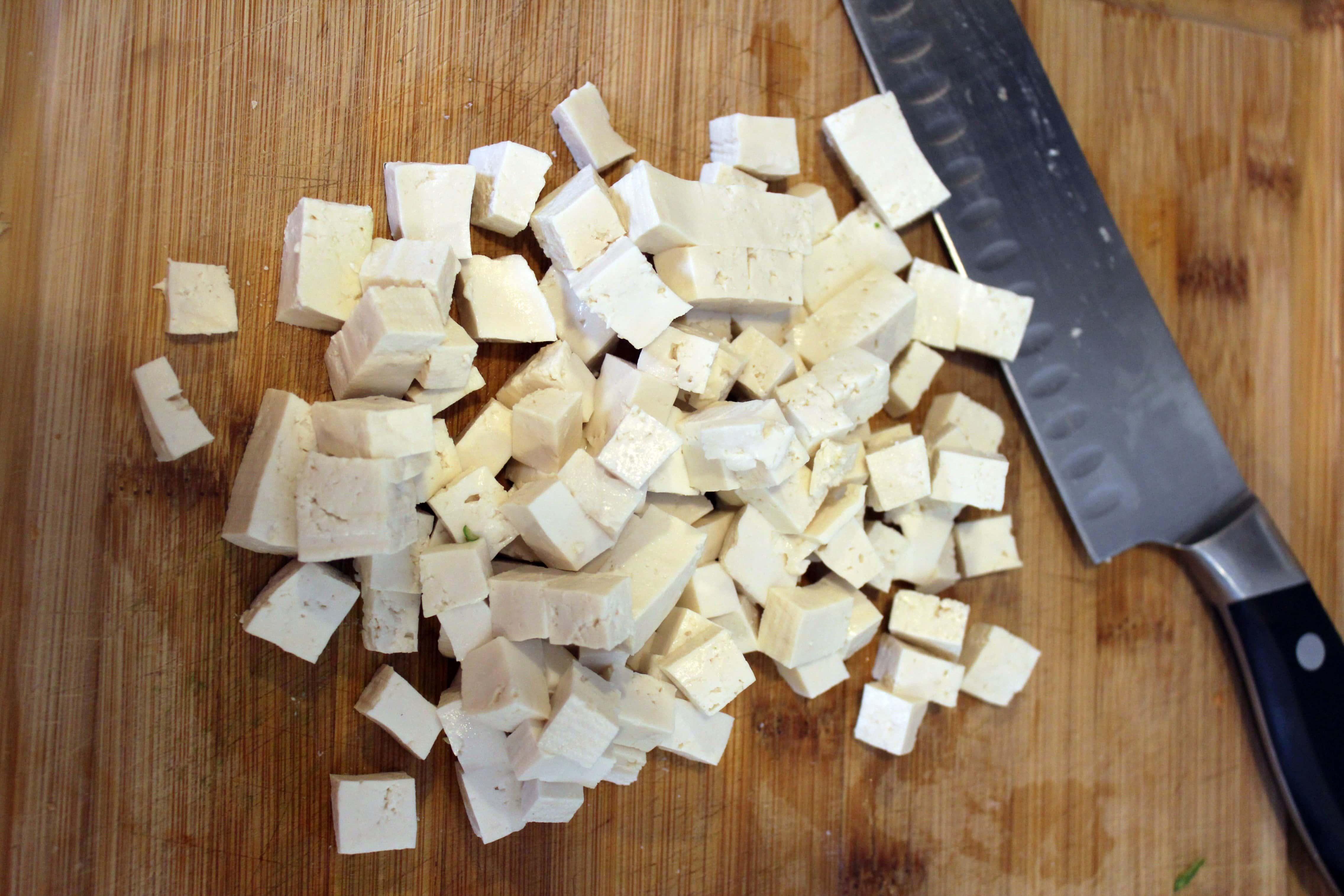 Cube Tofu