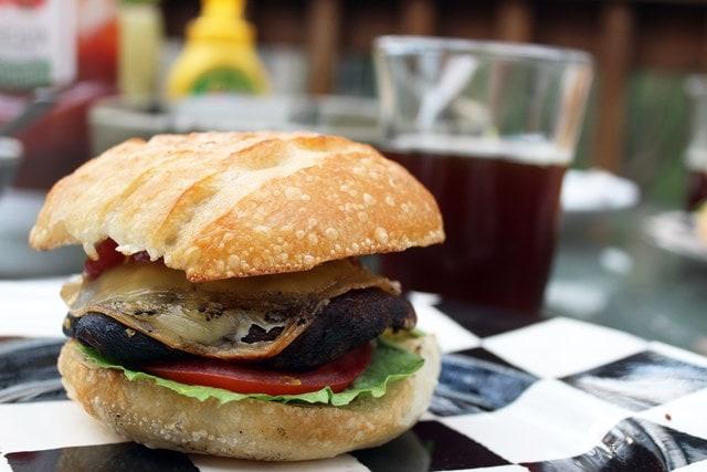 Portobella Burger