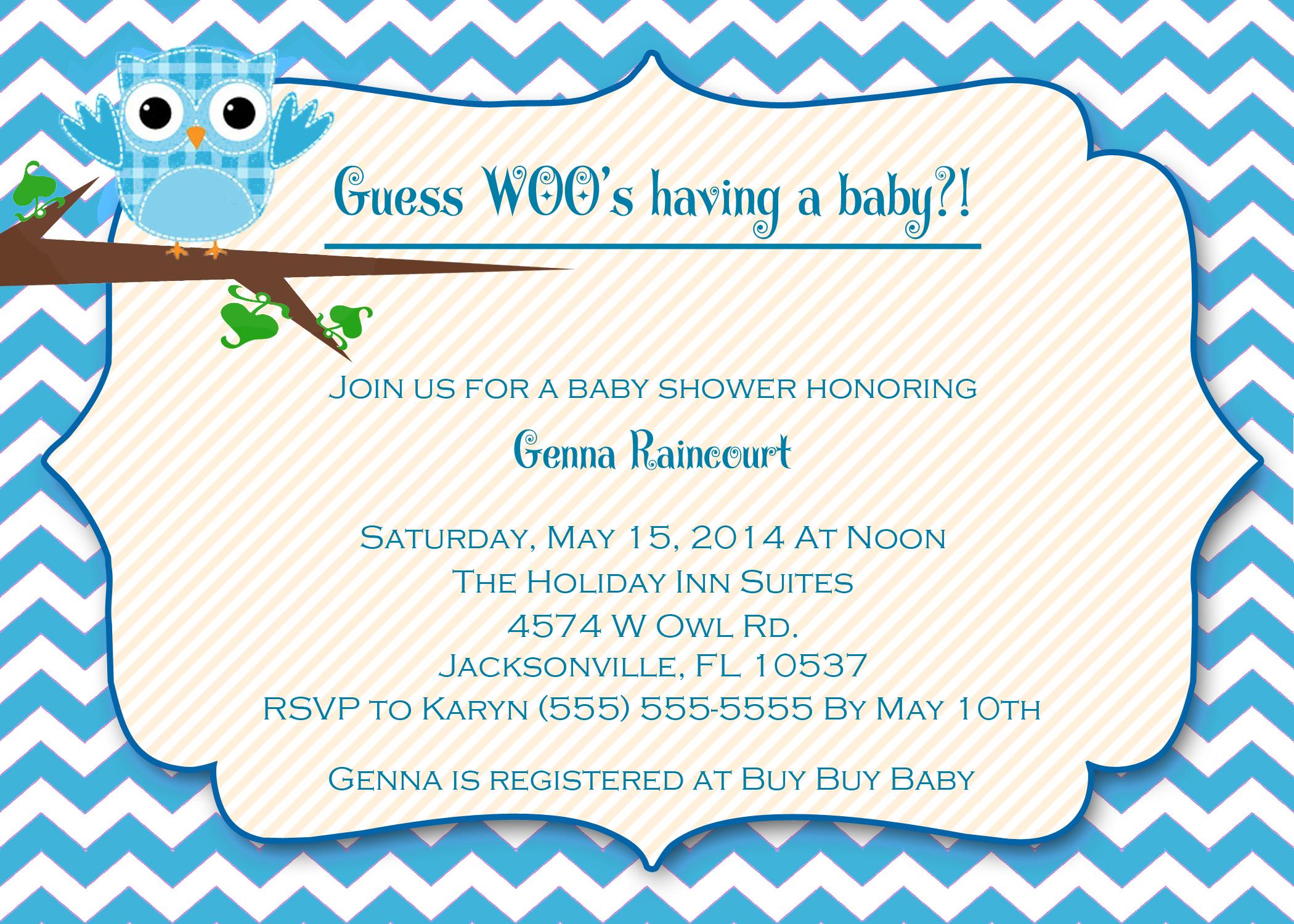 Fullsize Of Baby Boy Shower Invitations