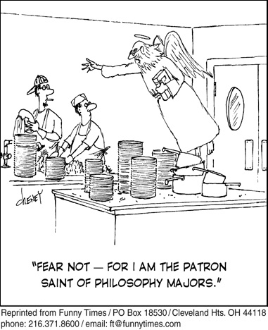 Funny work religion college  cartoon, March 03, 2010