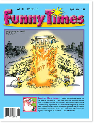 Funny Times April 2010 issue cover