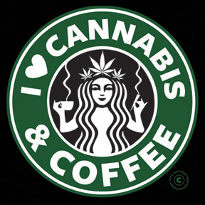 Cannabis & Coffee T-Shirt