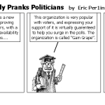 Professor Perversely Pranks Politicians