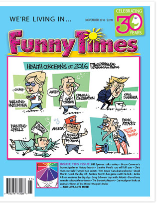 Funny Times November 2016 Issue
