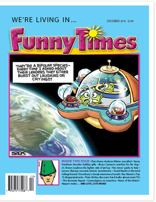Funny Times December 2016 Issue