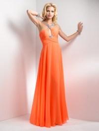 orange bridesmaid dresses | Fashion Trends