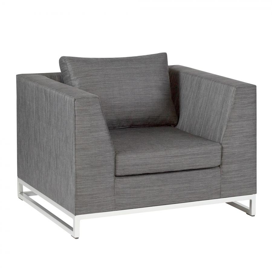 Lounge Sessel Outdoor Details Zu Outdoor Polstersessel Exotan Nanotex Cannes Lounge Sessel Vivagardea Grau Grey