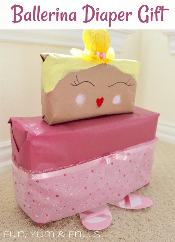 Creative Diaper Shower Gift Wrapping Ideas  Fun, Yum & Frills
