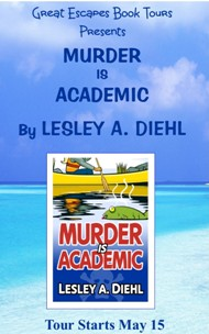MURDER IS ACADEMIC SMALL Button