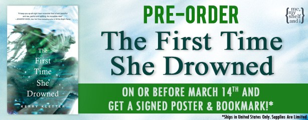 The First Time She Drowned PreOrder_Banner
