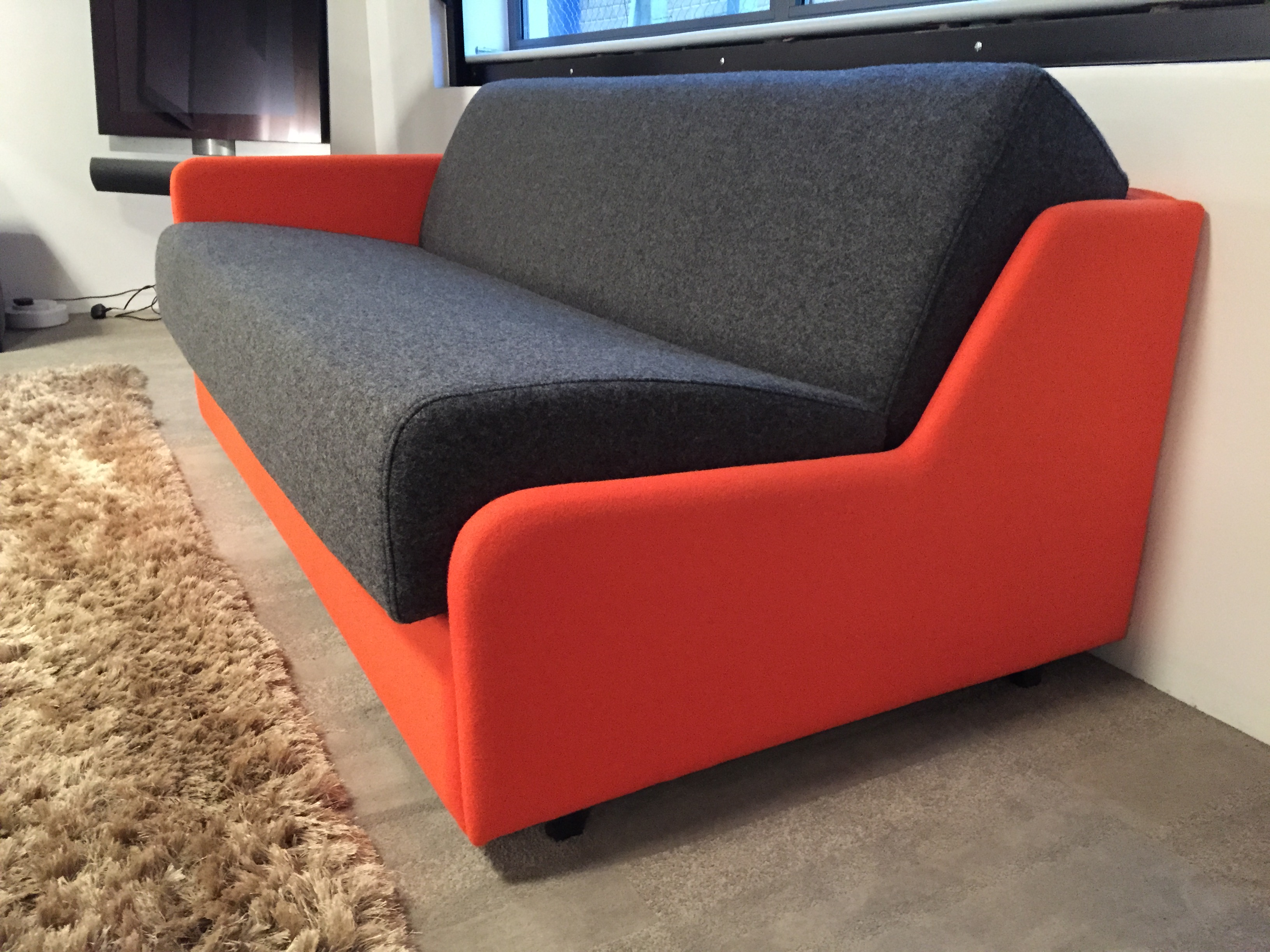Settee No Arms Slim Sofa Bed That Is Narrow Compact And Beautiful Furl Blog