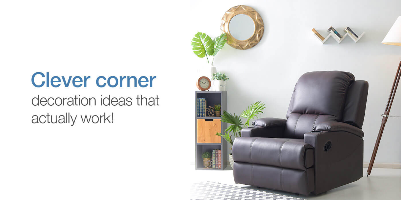 Photo Decoration In Room 10 Tips And Tricks To Decorate A Corner In A Living Room Furlenco