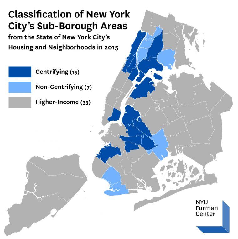 Report Analyzes New York City\u0027s Gentrifying Neighborhoods and Finds