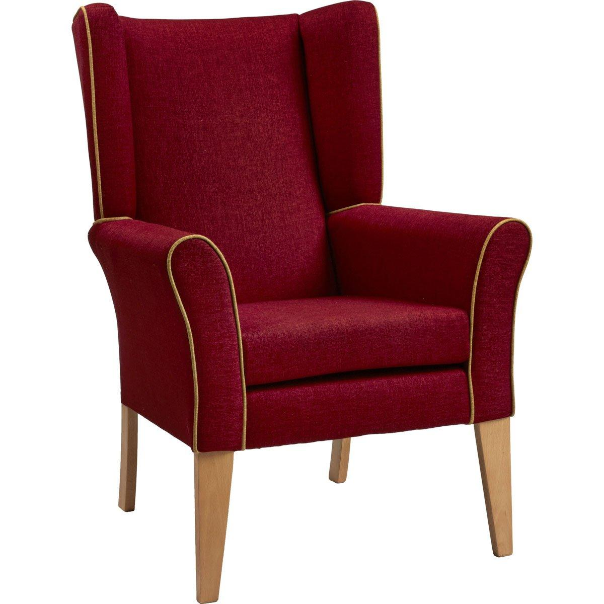 Cambourne High Back Chair With Wings Furncare