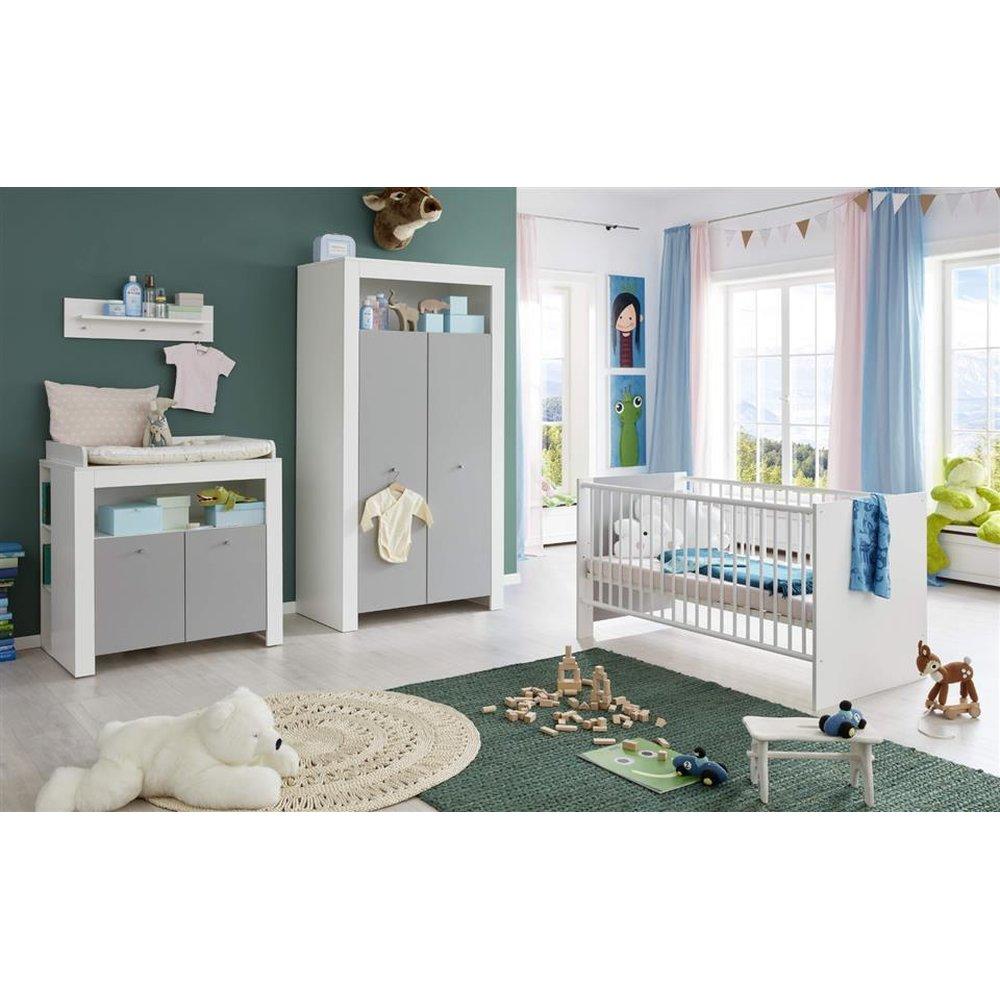 Babyzimmer Komplett Set Grau | Babyzimmer Weiß Und Grau Komplett Set ...