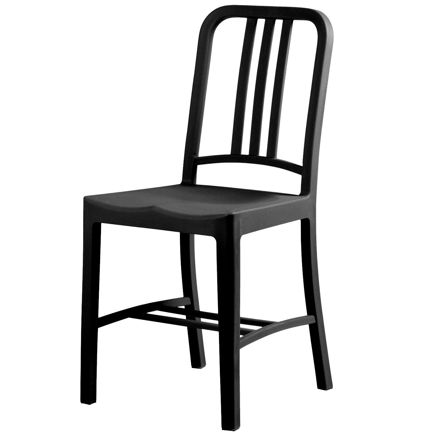 Philip Starck Terrace Chair Dd Navy Chair Polypropylene Pp Black