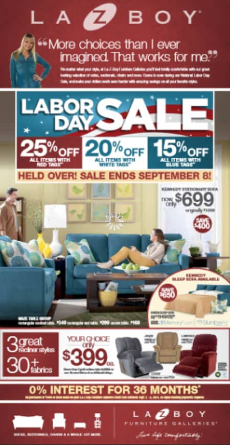 Wholesale Mattress Company Advertising Insight From Furnitureadtracker 2 Labor Day