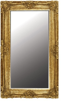 Extra Large Ornate Mirror in Gold | Mirrors