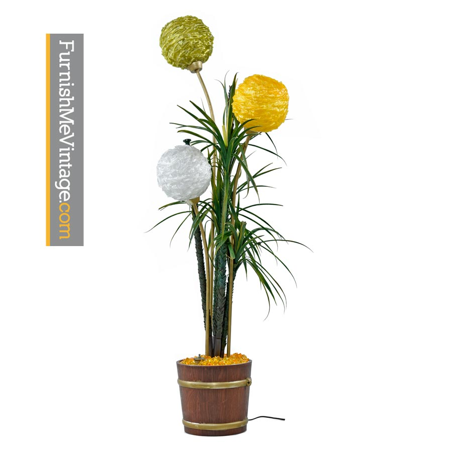 Lamp Plant Ribbon Globe Floor Lamp