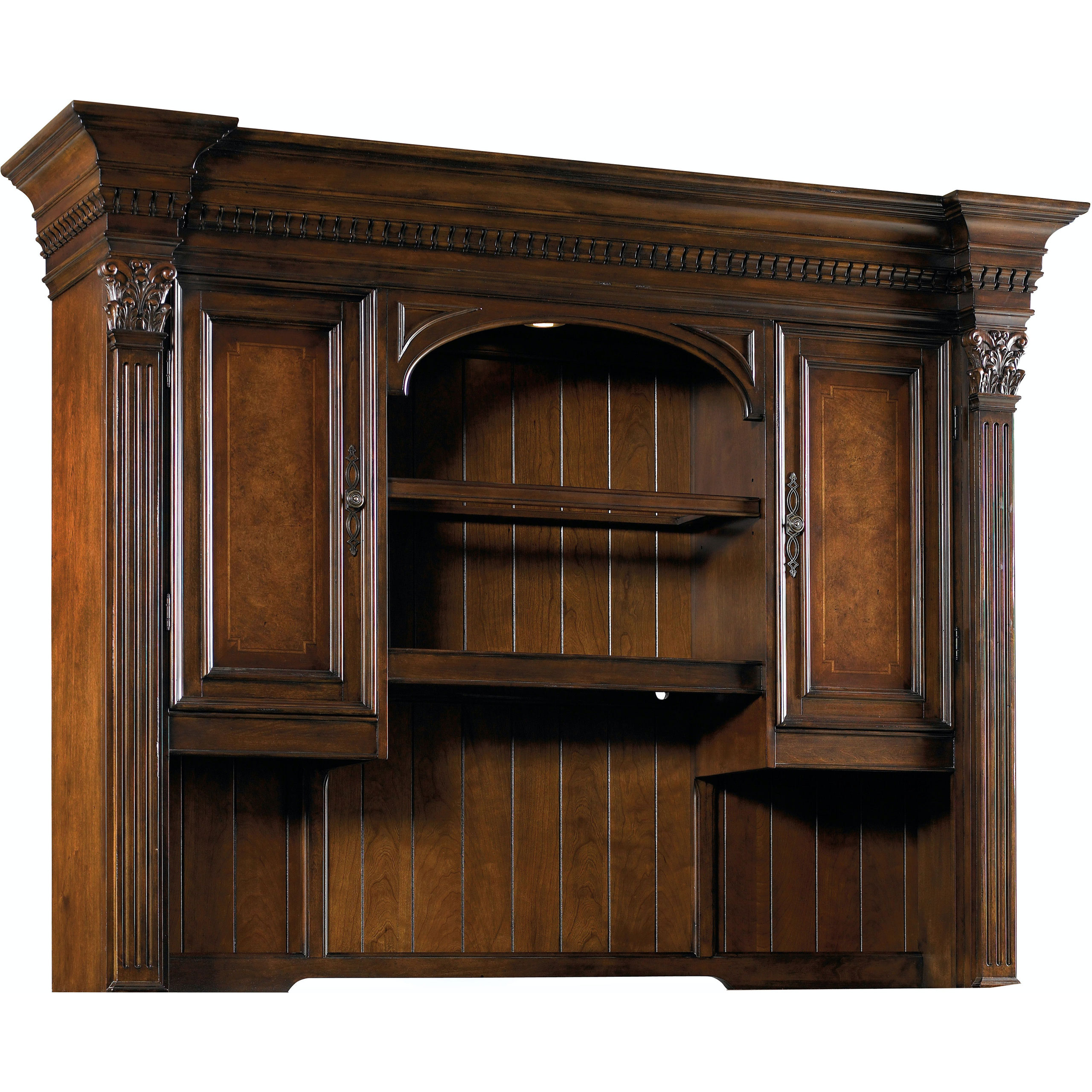 European Furniture Markham European Renaissance Ii Computer Credenza Hutch 374 10 467