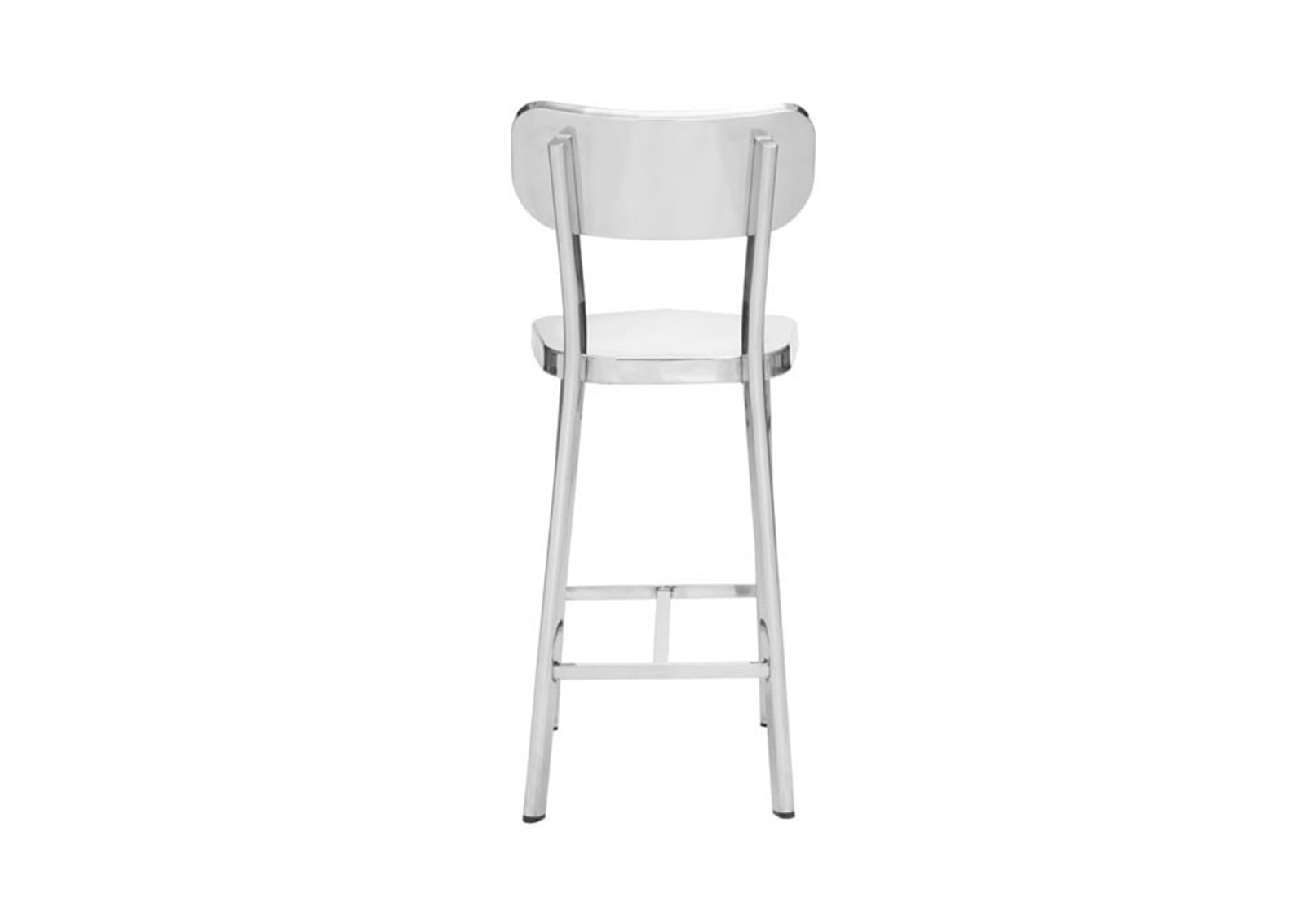 Slim Bar Stools Winter Counter Chair Stainless Steel | Furnishplus