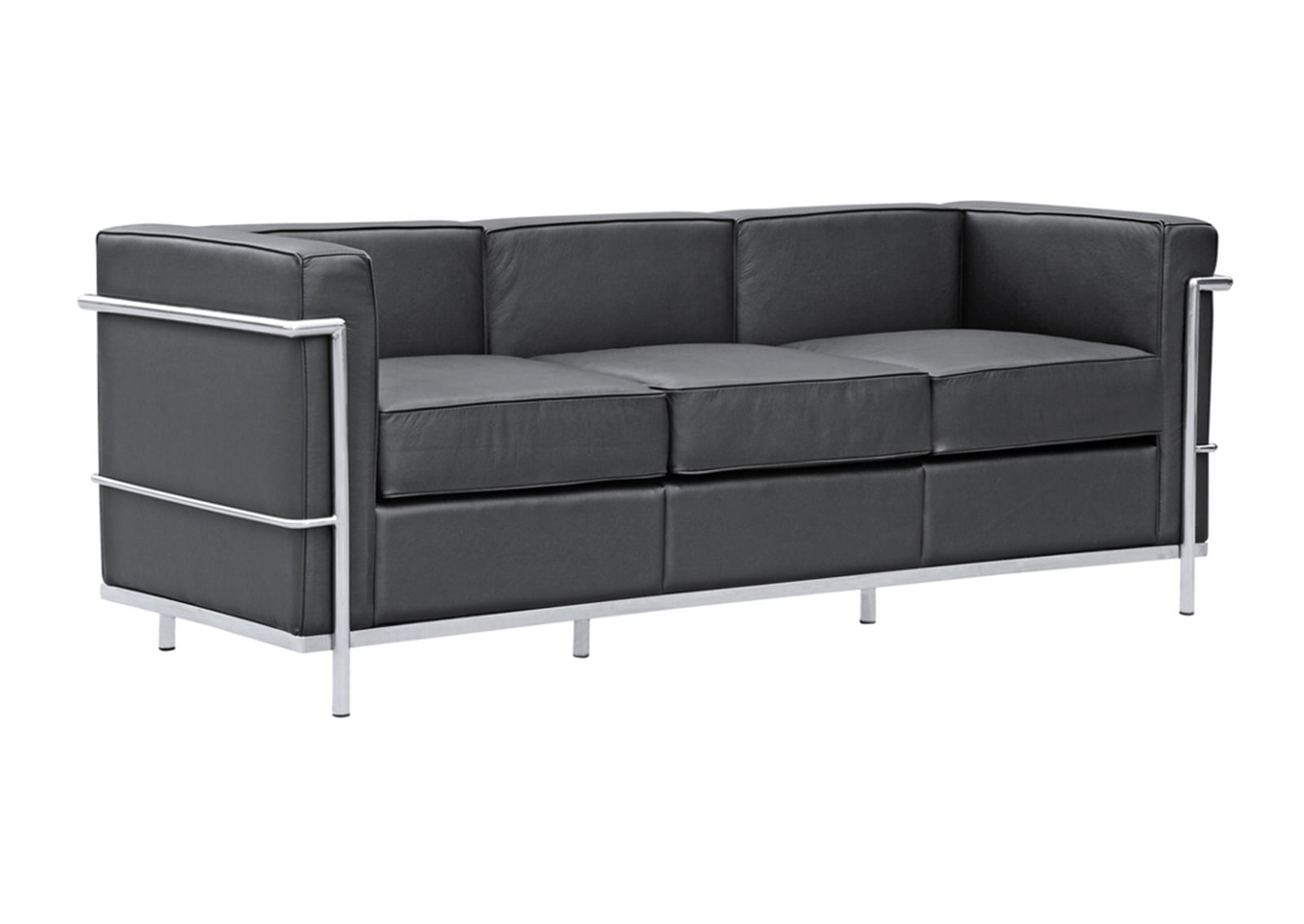 High Back Sofas Office Lc2 Sofa | Le Corbusier Style | Furnishplus