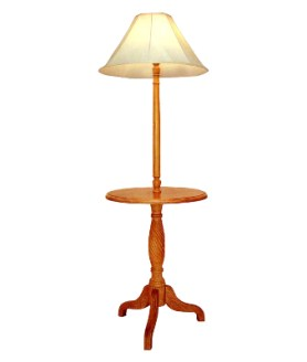 FLOOR LAMP - PEDESTAL