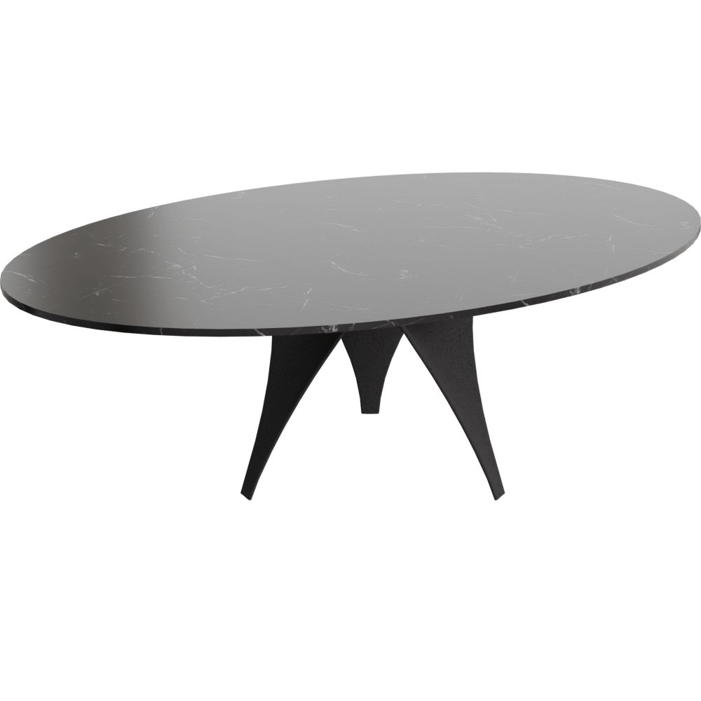 Ikea Esstisch Norden 220 Free Try Out Of Arc Table Ato4 From Molteni C In 3d Vr And Ar