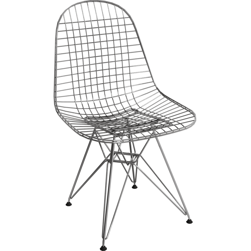 Chaise Vitra Wire Chair Dkr