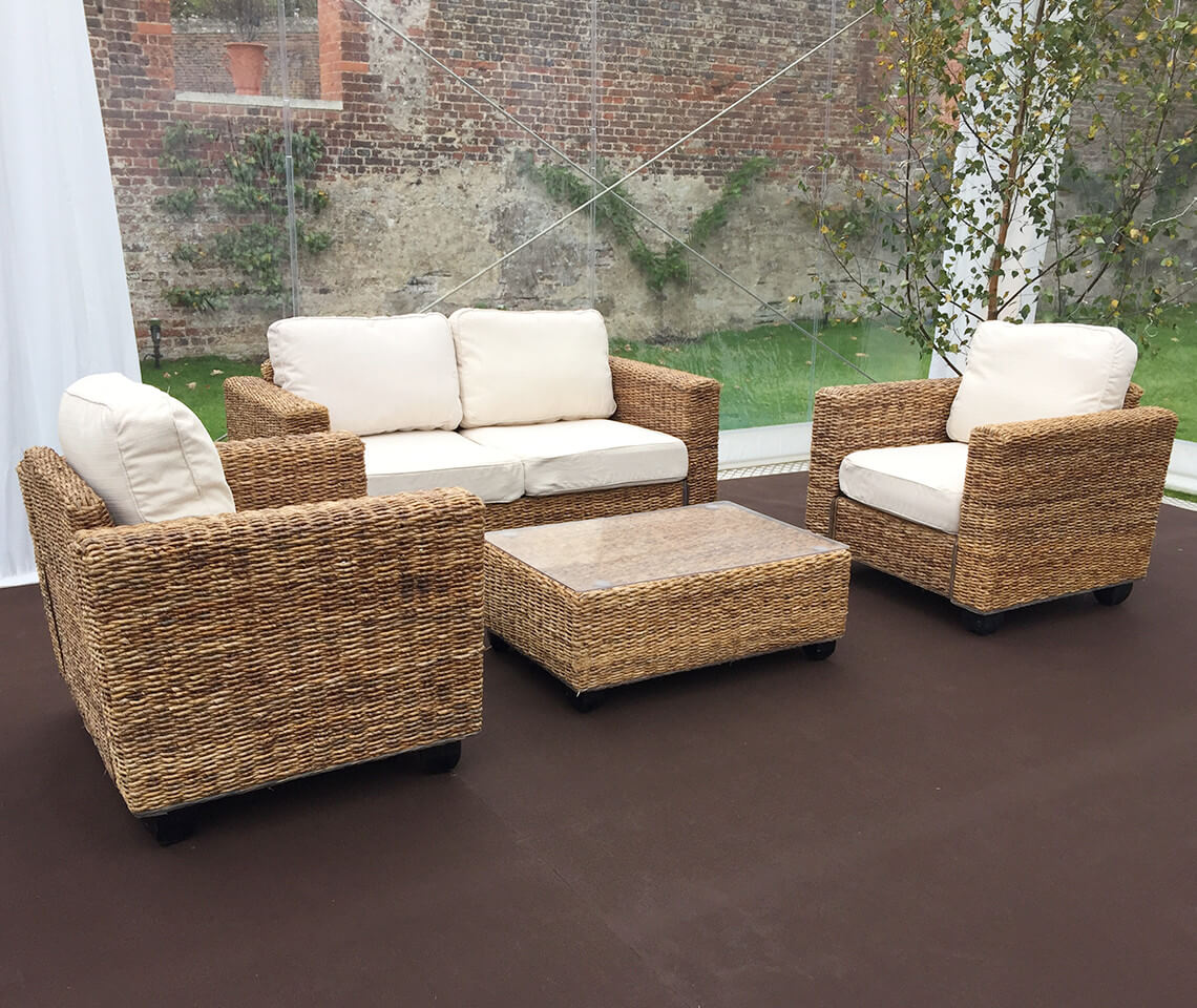 Bamboo Sala Set For Sale In Rizal Indoor Natural Rattan Sofa Set Furniture4events