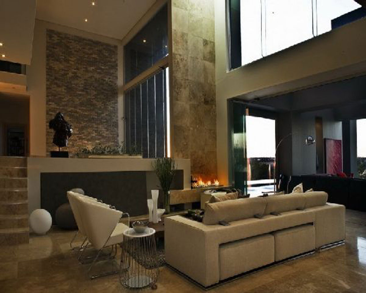 Contemporary House Interior Design Furniture And Furnishings All About Home Furniture