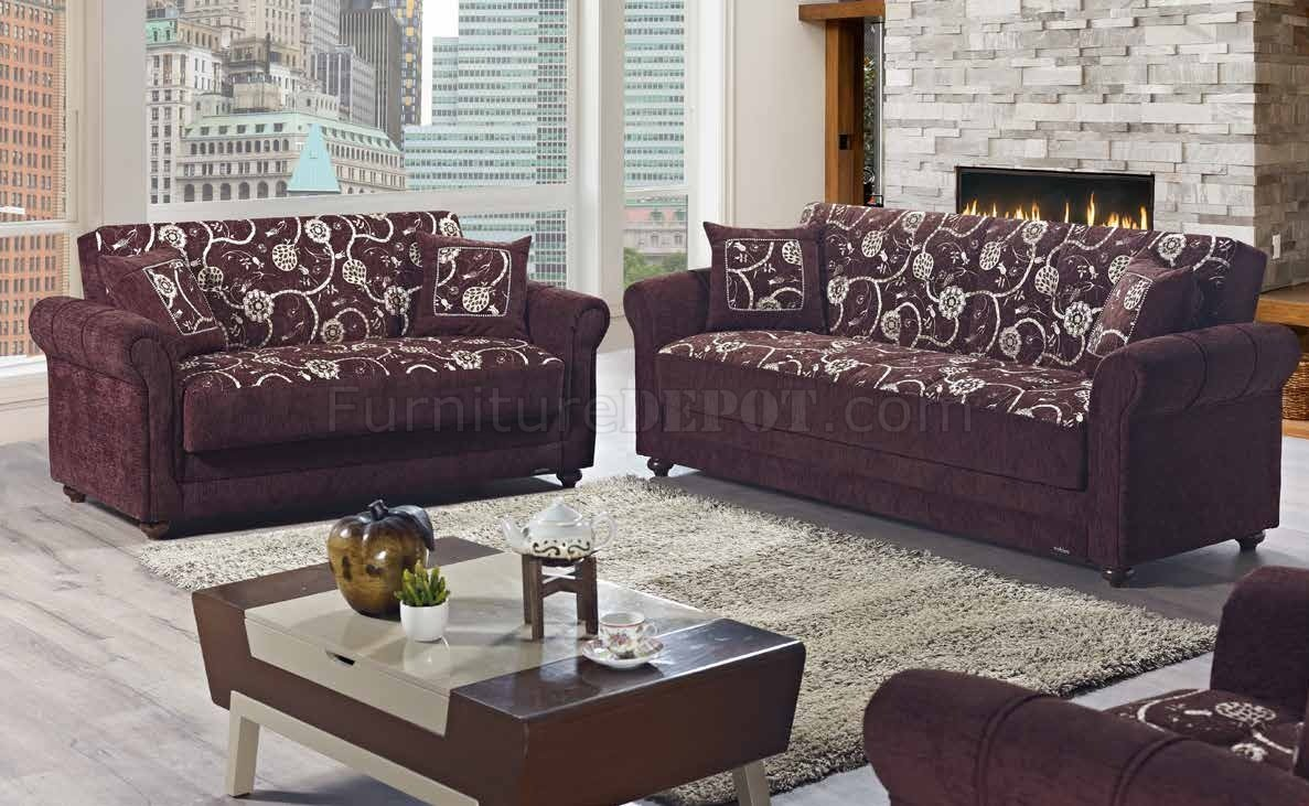 Sofa On Sale Regina Regina Home Sofa Bed Convertible In Brown Fabric By Mobista