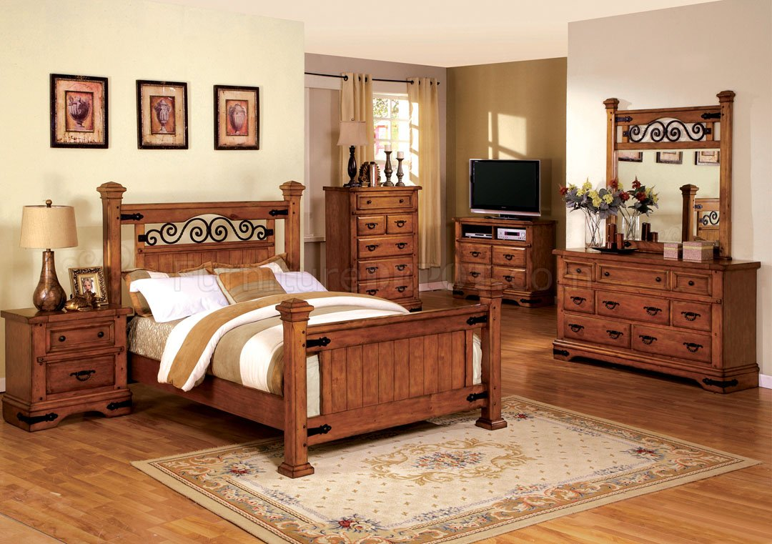 Cm7496 Sonoma Bedroom In American Oak W Options
