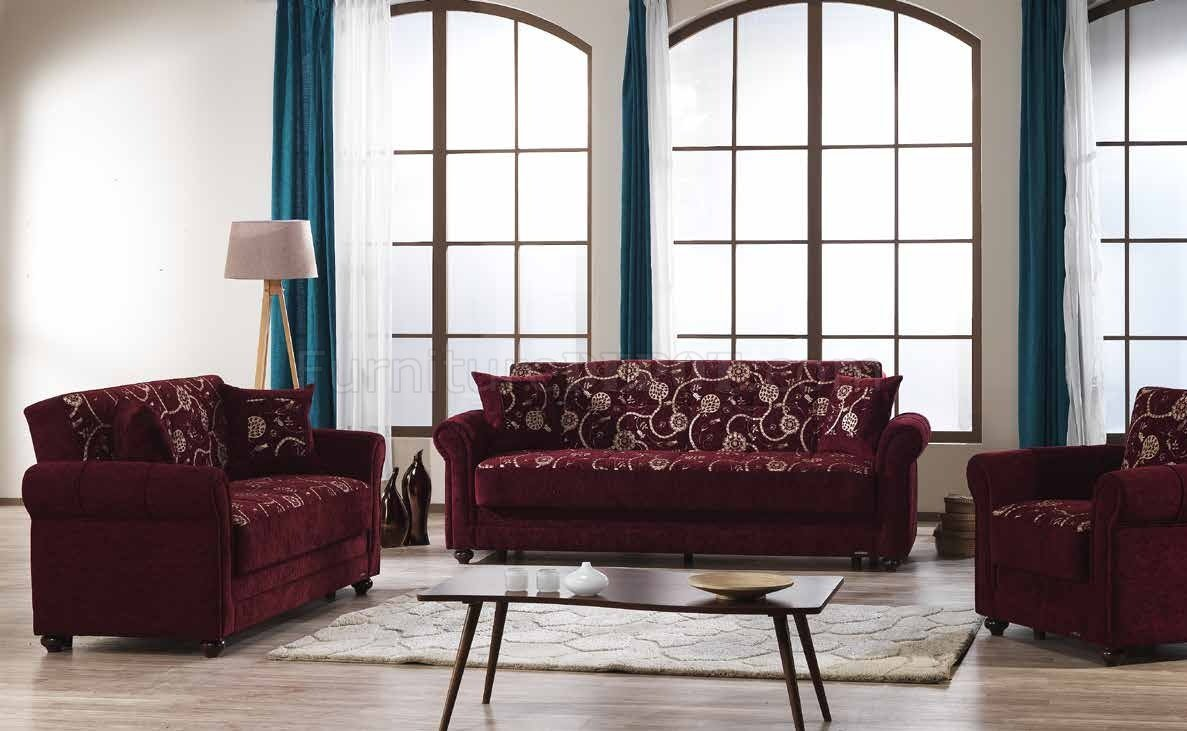 Sofa Bed For Sale Regina Regina Home Sofa Bed Convertible In Burgundy Fabric By Mobista