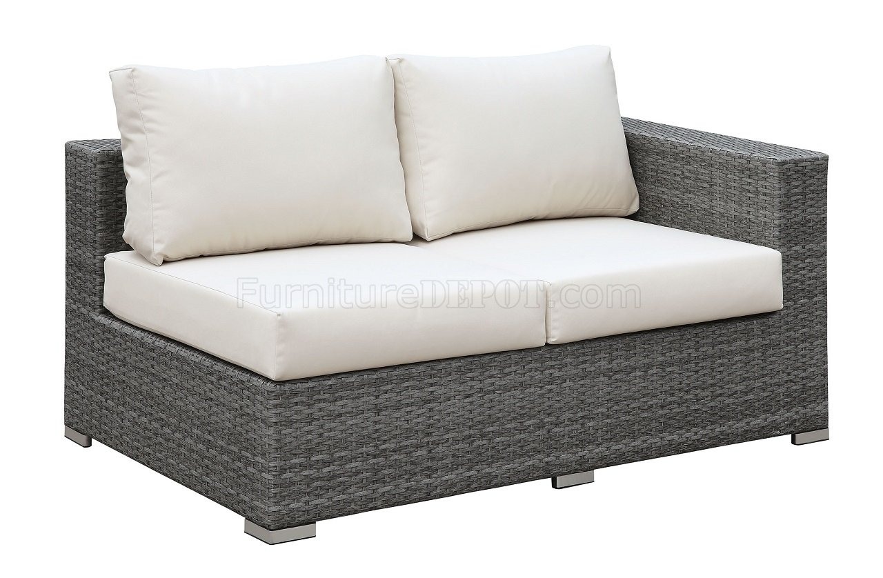 Sofa Set Action Somani Cm Os2128 10 Outdoor Patio L Shaped Sectional Sofa Set