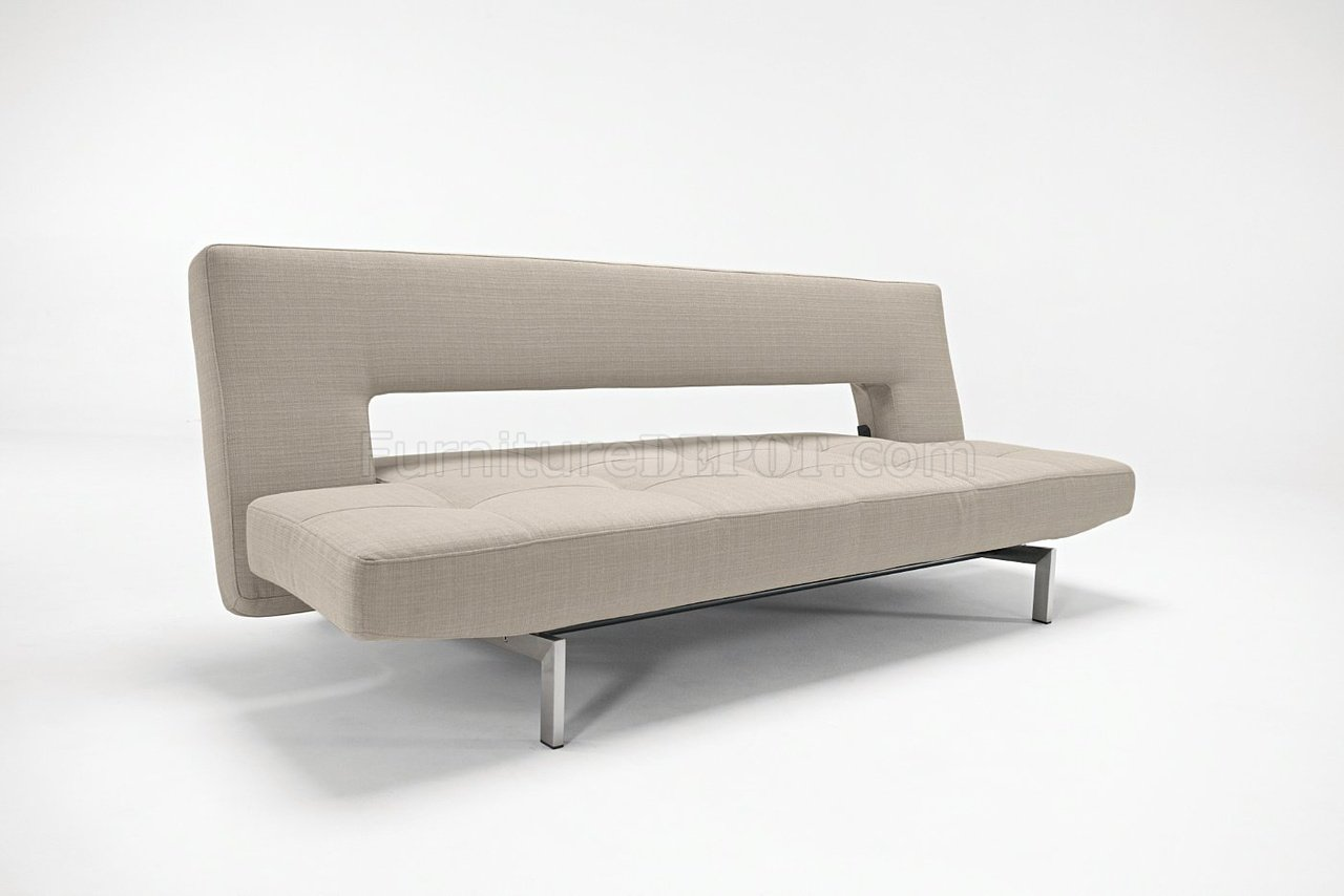Rolf Benz Sofa 345 Grey Fabric Contemporary Sofa Bed Convertible From Innovation