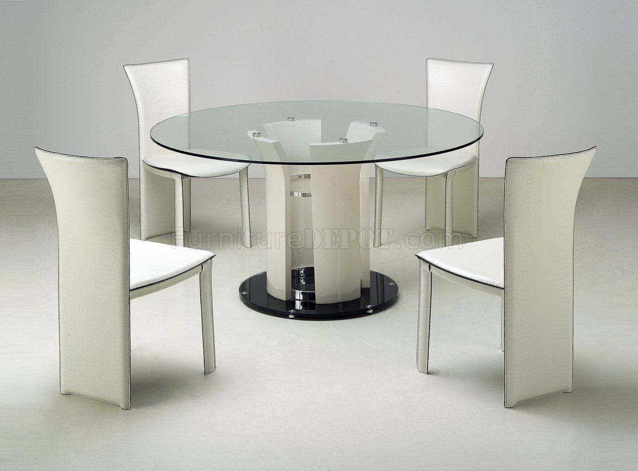 Modern Glass Table Glass Top Round Dining Tables Best Dining Table Ideas
