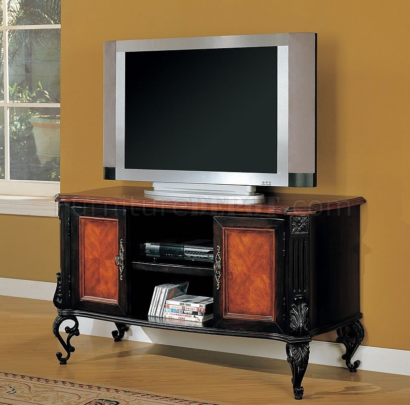 Baby Chairs Sofas Two Tone Black Cherry Classic Tv Stand