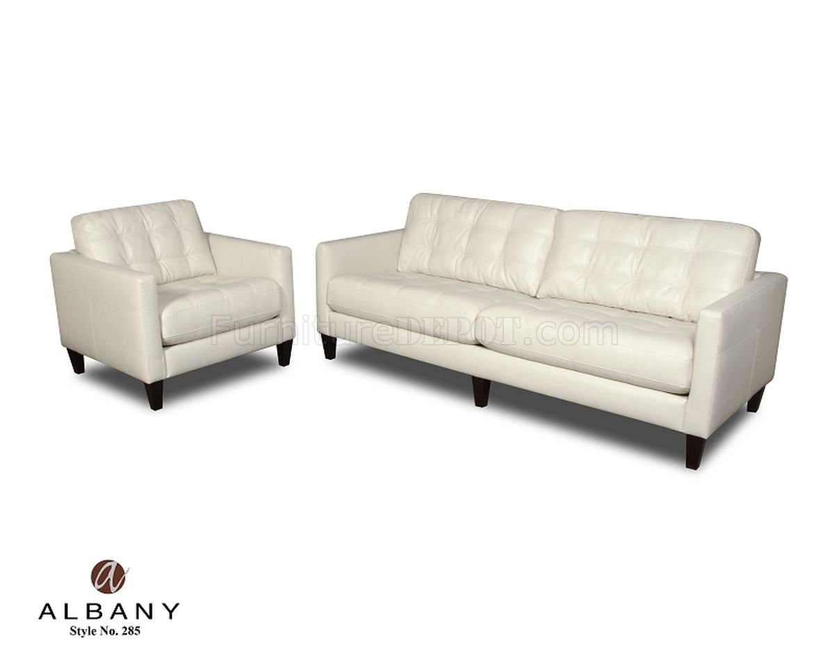 Contemporary Couch Milano Ice Contemporary Sofa Loveseat Set W Options